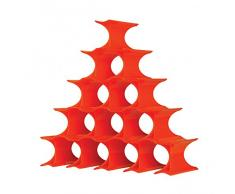 Kartell estante 16 Pcs., Orange