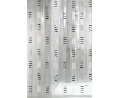 Kleine Wolke 4939901305 - Cortina de ducha, vinilo, impermeable, anti humedades y lavable a máquina, color