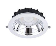 OPPLE Lighting LEDDownlightRc-P-HG R200-15W-3000 iluminación de techo Blanco - Lámpara (Blanco, Habitación de hospital, Oficina, Alrededor, Empotradas/Cepilladas, Aluminio, Policarbonato, IP44)