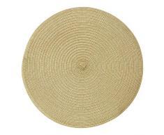 Premier Housewares - Mantel Individual, Oro metálico, Talla única