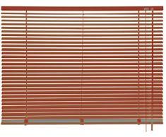 mydeco 62747 cortina persiana (aluminio, 60 x 175 cm, terracota