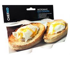 Chef Aid cocinas de huevos para microondas