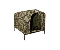 houndhouse de la perrera camuflaje gris perro casa