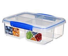 s 235 mm, 265 mm, 120 mm, 1 Pieza s Sistema 61850 Rectangular Caja 5L Multicolor Recipiente de almacenar Comida Transparente 1pieza Recipiente para Alimentos