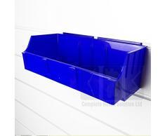Complete Retail Source ltd Caja de Almacenamiento de Gran Resistencia (Azul, 10), Color Azul