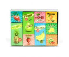 Trendform-Kit Caja Frutas Oficina imanes, 7x 9,4x 1,9cm