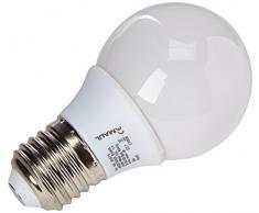 MAUL 8231090 E27 8W Negro lámpara de mesa - lámparas de mesa (Ambiente, Corriente alterna, E27, Blanco cálido, Negro, Salón, Oficina, Estudio)