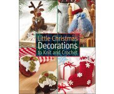 Search Press Papel books-little Decoración de Navidad