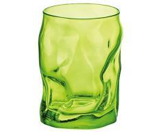 Bormioli Rocco - Fuente Lightgreen, vaso de cristal, 30 cl