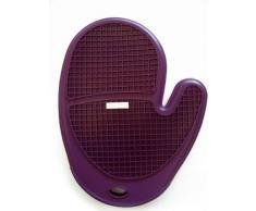 Silicone Zone 7702208 guantes de cocina de silicona MORADO 25,5 cm x 19,5 cm x 2 cm