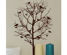 Die Cuts con vistas pájaros en el árbol de Navidad decorativo, Multi-color