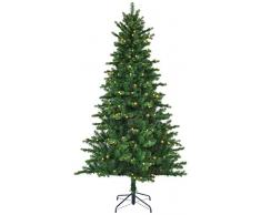 Black Box Trees 385776 - Árbol de Navidad artificial (185 cm de alto, 112 cm de diámetro, 898 ramas), color verde