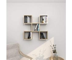 Theta Design by homemania Estante, Estante Spider, Sonoma
