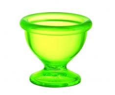 Luminarc 9210216 juego de 6 hueveras Sodo Cocoon Crazy corte-Green, 5,5 x 4,8 cm
