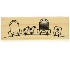 Almohadilla de madera - Tendedero