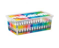SIK KIS 8013183085902 Caja y Cesta de almacenaje - Cajas y cestas de almacenaje (Caja de almacenaje, Estampado, Rectangular)