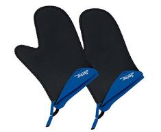 Spring 2094055002 Grips - Manoplas de cocina cortas (1 par), color azul