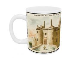 Richard o Neill Lincoln castillo Impresión cojín, Multicolor