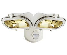 ELRO 10.018.21 - Doble foco halógeno con sensor exterior de 2x120W incluye 2250lm ES128ES128W/2