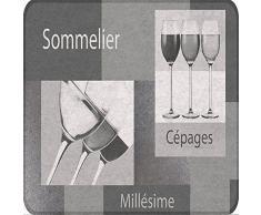 Tapis Déco - 1740292, Tapete Rectangulo , 45 X 75 Cm , Sommelier , Tapete Antideslizante