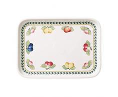 Villeroy & Boch French Garden Fuente, 36x26 cm, Porcelana Premium, Blanco/Colorido