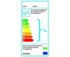 EGLO 31008 foco Foco de superficie Negro, Plata GU10 LED 12 W - Punto de luz (Foco de superficie, GU10, 4 bombilla(s), LED, 12 W, 3000 K)