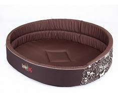 HOBBYDOG de espuma perro cama, tamaño 7, subtítulos