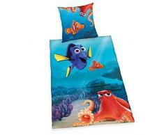 Herding Disneys Findet Dorie Juego de Cama, algodón, Azul, 135 x 200 cm