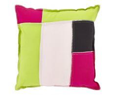 45 x 45 cm decoración holandesa Finabo cojín de algodón, color rosa