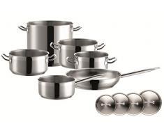 Mäser Domestic Professional Professional Home - Batería de cocina, 10 piezas