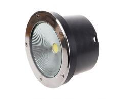 Foco LED segnapasso Segnapassi calpestabile exterior IP6520W luz blanca 6500° K