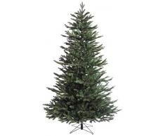 Black Box Trees 384737 - Árbol de Navidad artificial (215 cm de alto, 137 cm de diámetro, 2382 ramas), color verde