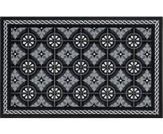 Wash + Dry Design Felpudo, Negro, 75 x 120 cm
