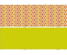 Decorativo ArtePatch fina de papel de seda a pegamento 2 hojas huevos de Pascua, 10 unidades, Multi-color