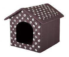 Hobbydog - Casa para Perro, tamaño 2, Color marrón con Patas