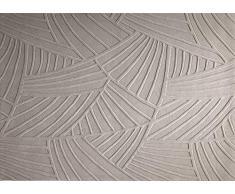ESPRIT Palmia Alfombra Moderna, Lana de Nueva Zelanda, Beige, 240 x 170 x 1 cm