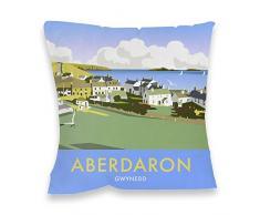 Dave Thompson Aberdaron, Gales del Sur Impresión cojín, Multicolor