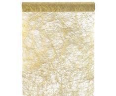 Santex 4755 Camino de Mesa Fanon metálico de alta calidad de tela de oro