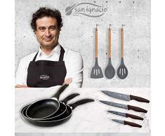 San Ignacio Q3249 Set 3pc Utensilios de Cocina Nylon Colecci/ón Jolie de la Marca