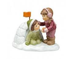 Goebel 11746013Â Caliente Cacao para Dich Figura, Porcelana, Multicolor, 14Â x 10Â x 11,5Â cm