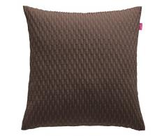 Esprit Home 50015-023-50-50 - Funda para Almohada, Color marrón