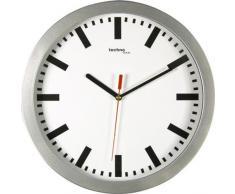 TechnoTrade WT-8610, Plata, 1x AA - Reloj de pared