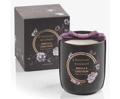Ritzenhoff Aroma Naturals Noir Vela Aromática, Mimosa & Cardamom, en del Paquete de Regalo
