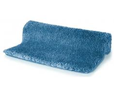 Spirella 60 x 90, Azul colección Highland, Alfombrilla de Ducha, 100% Polyester-Microfibra