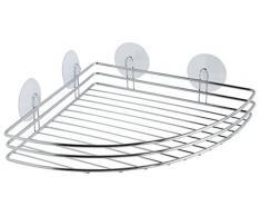 Gelco Design Broadway estantería de Esquina, Metal, Cromo, 25 x 25 x 5,5 cm