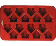 K9 Cakery silicona Mini perro casa pan-9-inch X 13,4 cm 16 cavidad (3,8 x 3,8 cm)