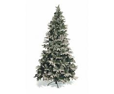 Galileo Casa Canadá Nevado Árbol de Navidad, PVC, Verde, 110 x 110 x 180 cm