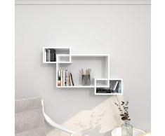 Theta Design by homemania Estante, Estante Davis, Color Blanco