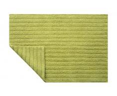 Spirella colección Benoa, Alfombrilla de Ducha 70 x 120,100% Algodón, Verde Claro, 120 X 70 X 10 Cm
