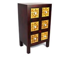 Gabinete de madera maciza Geko 40 x 30 x 70 cm